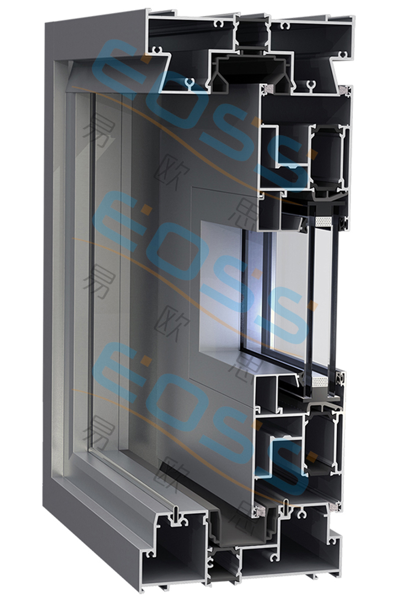 ES152 series insulation lifting push-pull system doors and windows