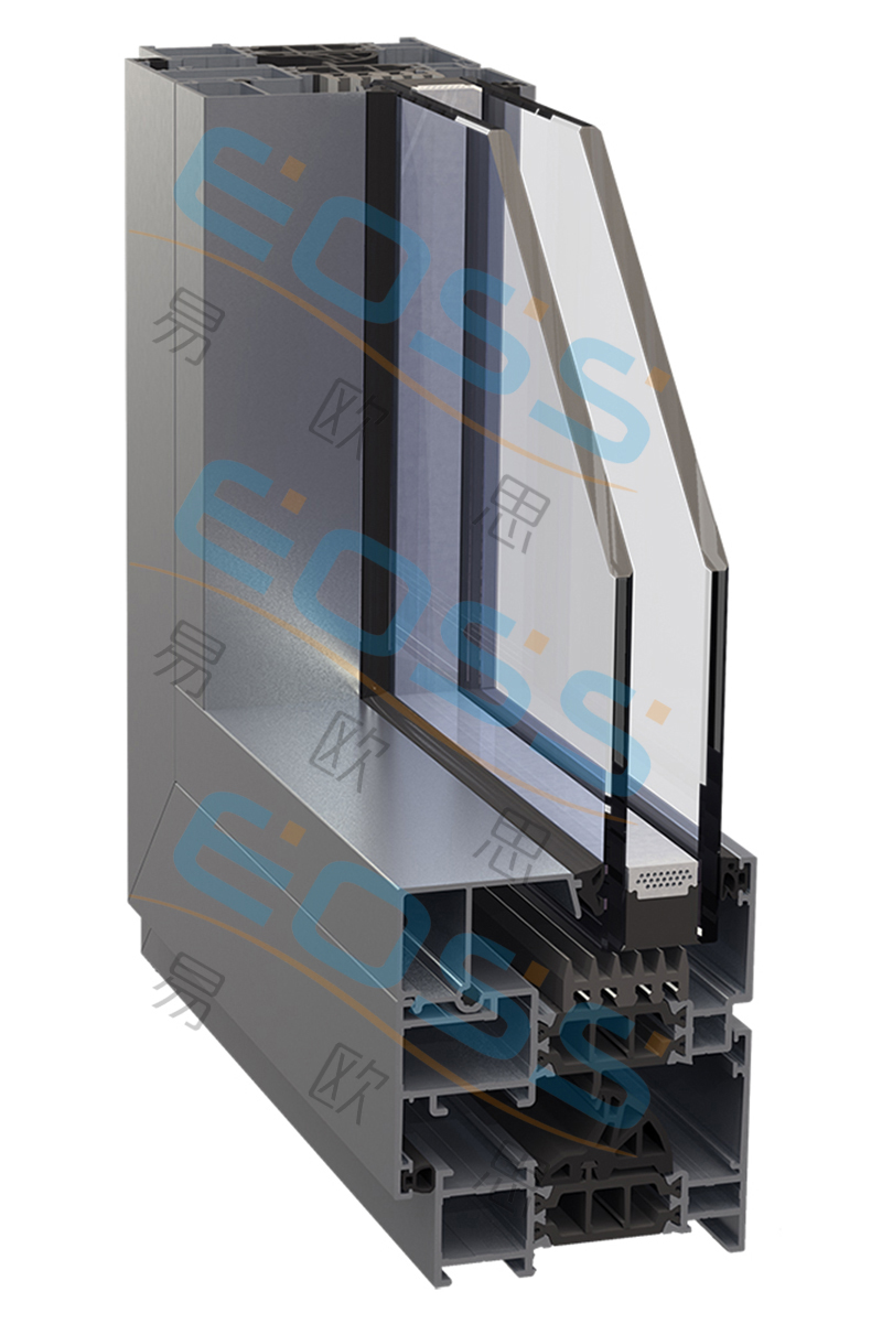 ES70A high heat insulation swing system system doors and windows