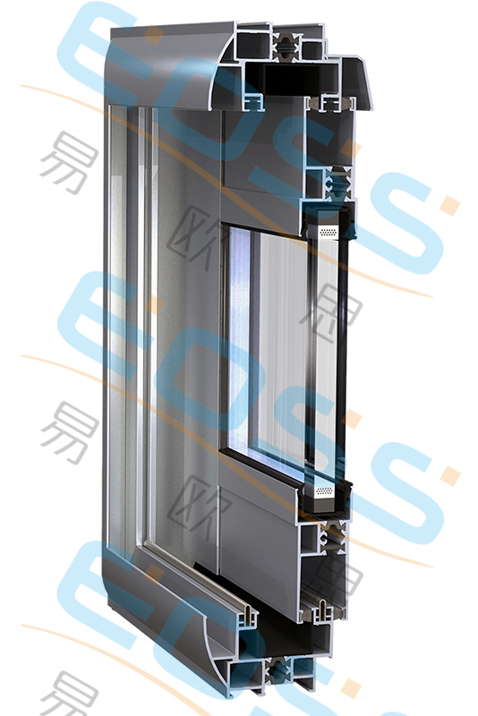 ES86 insulated push-pull system doors and windows
