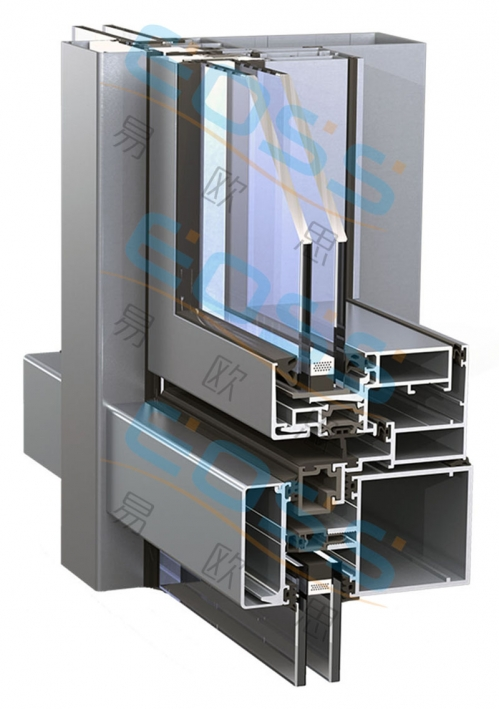 EF60——Bright frame insulation curtain wall series
