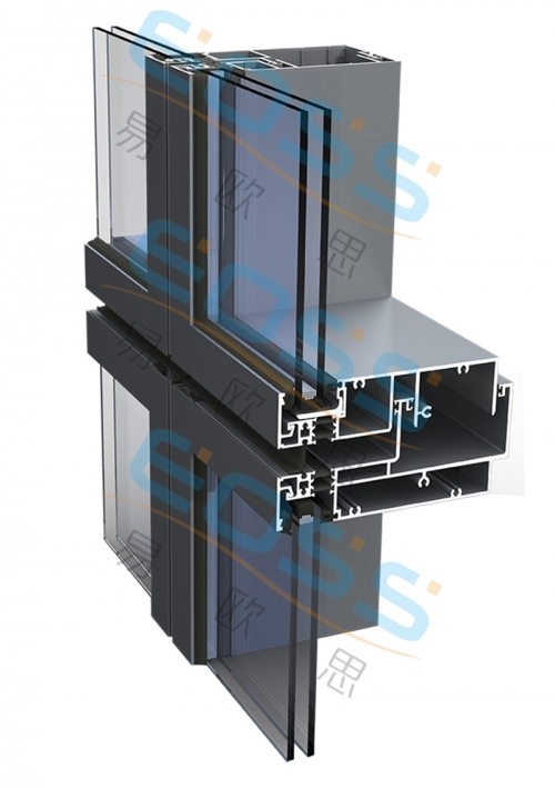 EF100——Thermal insulation unit curtain wall