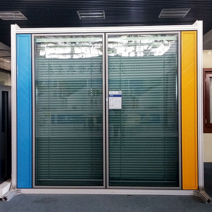 EF87 double door & window curtain wall system series
