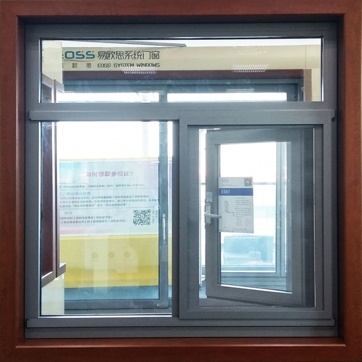 ES61 casement window sliding screen